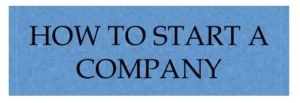 How to start company in India