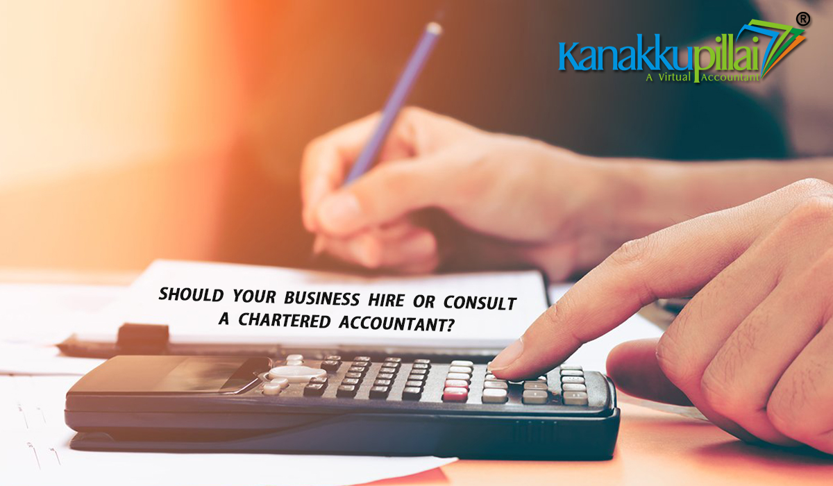 Should your Business Hire or Consult a Chartered Accountant