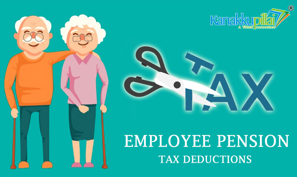 Employee pension tax Deductions