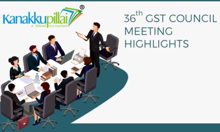 36th GST Meet Updates News