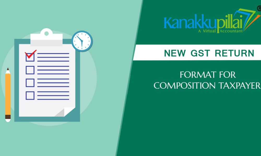 New GST Return Format for Composition Taxpayers in India