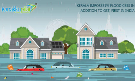 Kerala imposes 1% flood cess in addition to GST, First in India