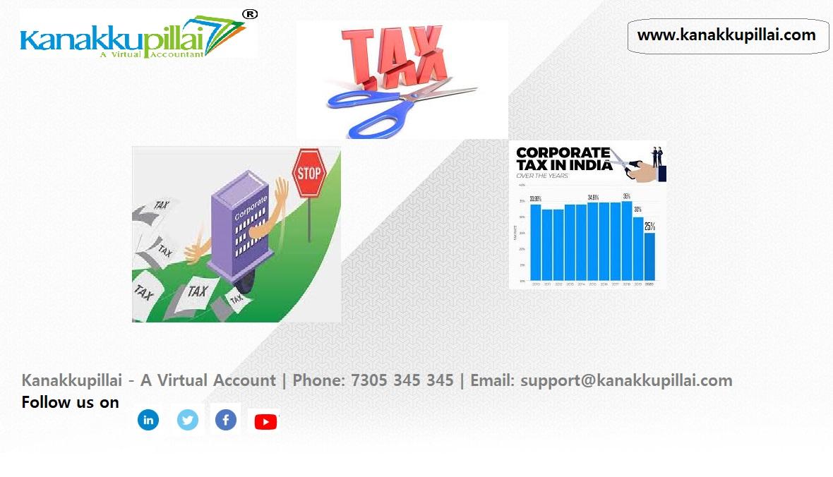 corporate tax rate cut