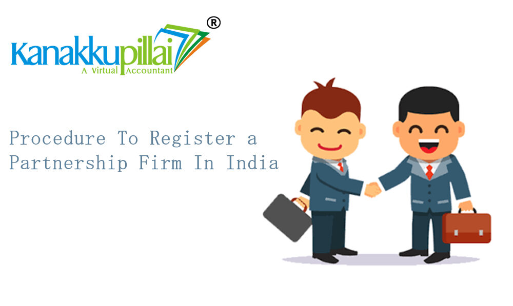 Procedure To Register a Partnership Firm In India (Tamil Nadu)