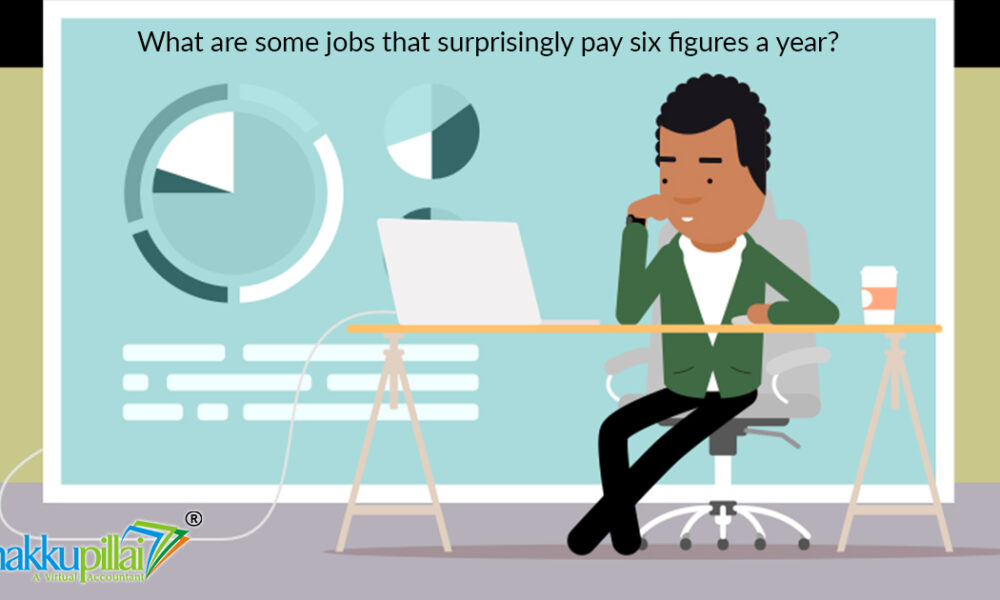 What are some jobs that surprisingly pay six figures a year?