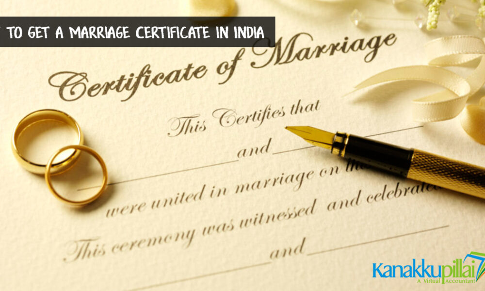 Marriage Certificate in India- Procedure, Documents Required