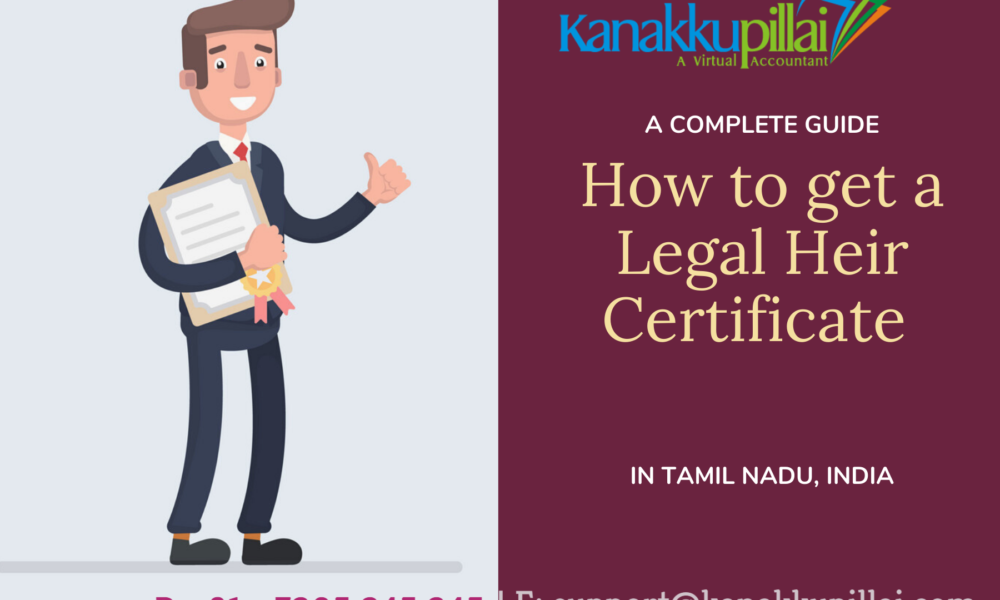 How to get a Legal Heir Certificate Tamil Nadu India