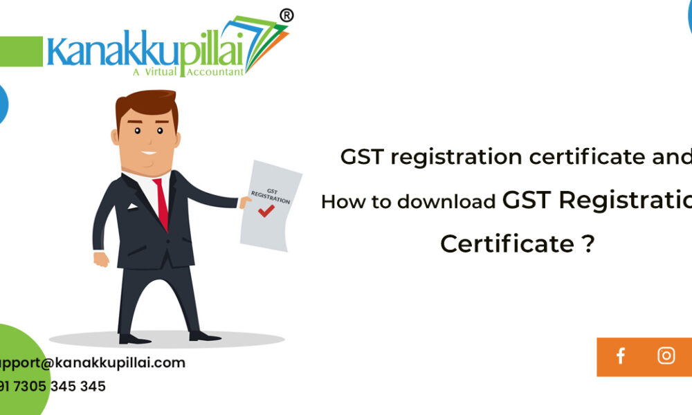 How to download GST Registration Certificate Online