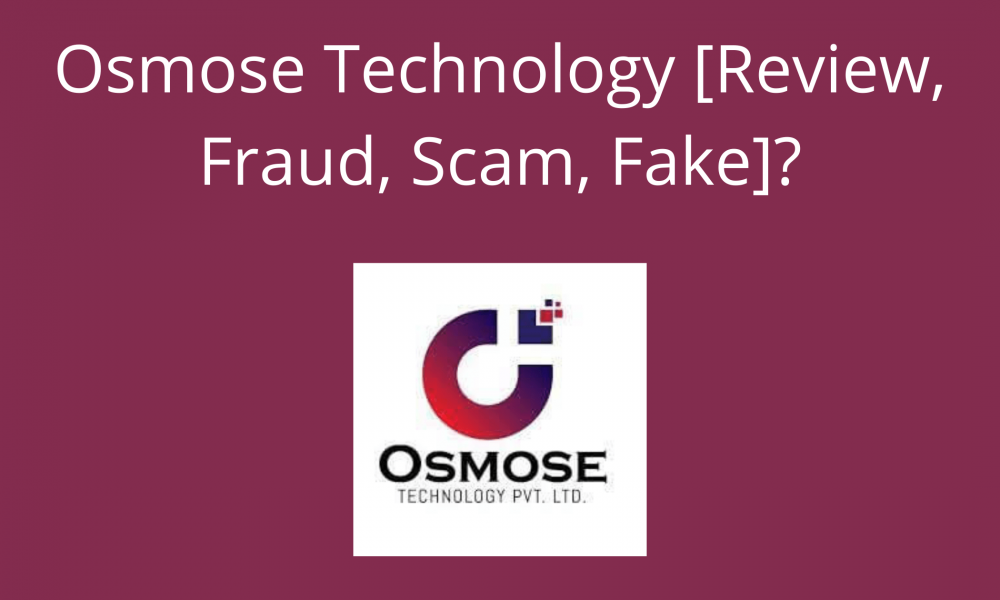 What is Osmose Technology Pvt Ltd in India
