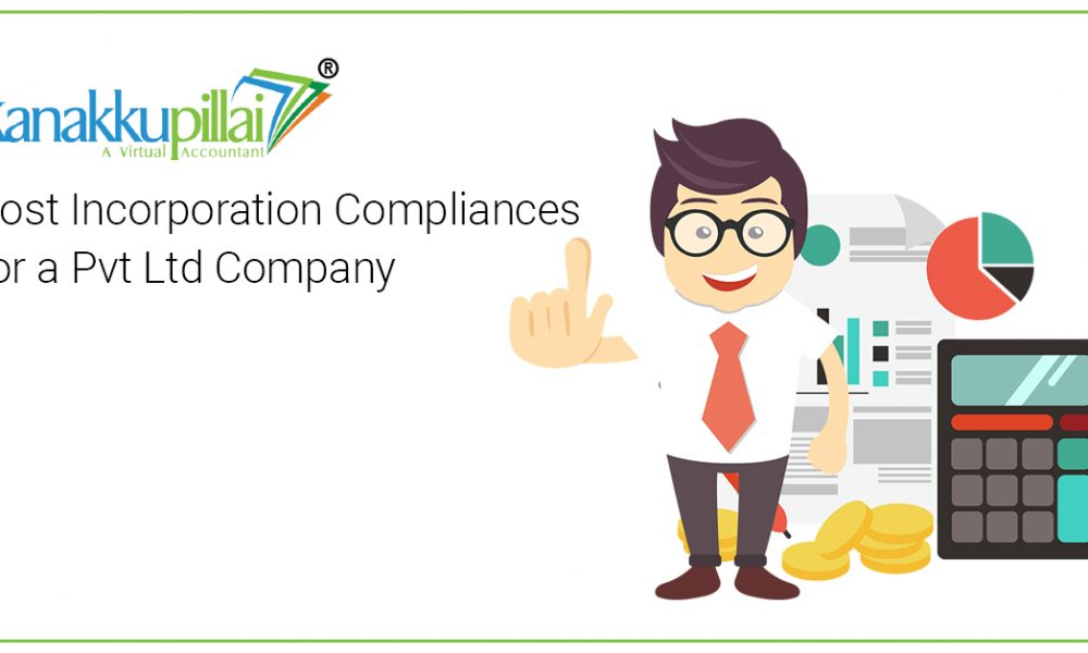 List of Post Incorporation Compliances Here