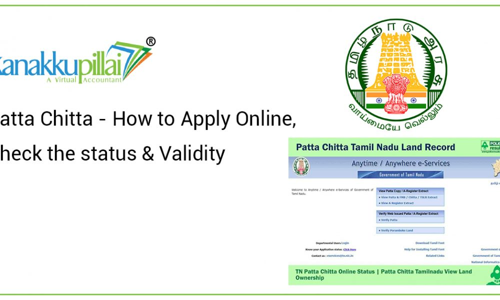 Patta Chitta – How to Apply Online, Check the status & Validity