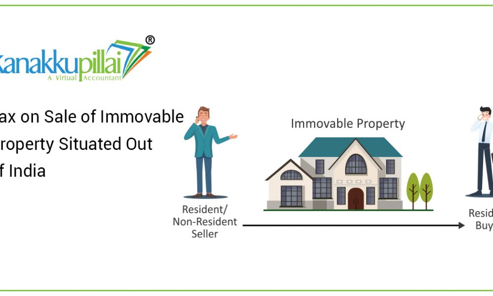 Tax on Sale of Immovable Property Situated Out of India
