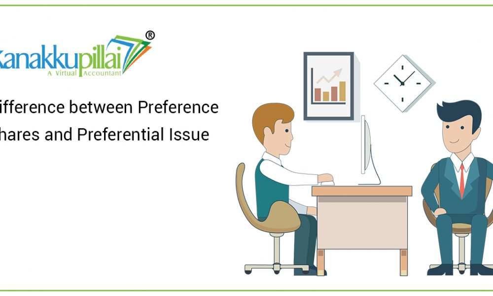 Difference between Preference Shares and Preferential Issue